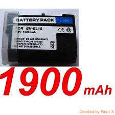 """★★★ """"1900mA"""" BATTERIE Lithium ion ★ Pour NIKON D7200 D810 D750 ENEL15  EN-EL15"""
