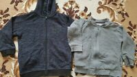 Kids cardigans boys Used  Bundle of 2 jumper, boy size 2 to 3 year old, George