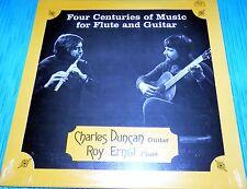 Charles Duncan & Roy Ernst Four Centuries of Music for Flute & Guitar Sealed LP