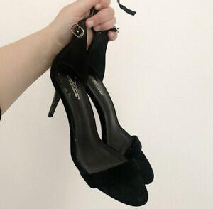 Black Heels - Size 8