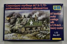 Lot 11-321 * UM 1:72 Scale kit No. 451, M7 Howitzer Motor Carriage w/9.75 Inch