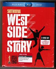 WEST SIDE STORY: 50th Anniv Ed. [TARGET-EXCL Blu-ray/DVD DIGIBOOK, 2011] - NEW!