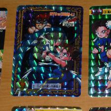 STREET FIGHTER ZERO II CARD PRISM HOLO CARD 2 RYU Vs CHUN MADE IN JAPAN 1996 **