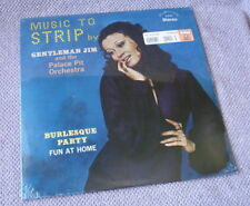 MUSIC TO STRIP TO Burlesque Party Fun At Home Gentleman Jim Vtg Sealed LP