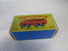 Vintage MATCHBOX Hoveringham 8-Wheel Tipper #17