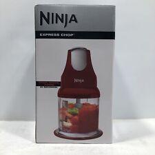 Ninja NJ100 Red Express Chop Food Processor - NEW SEALED