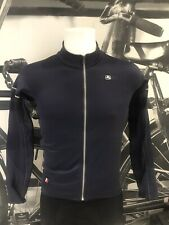 Giordana Cycling Long Sleeve Jersey FR-C PRO Thermal |Mens-Dark Blue|BRAND NEW