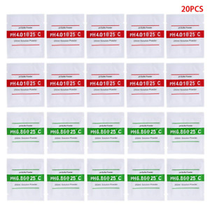 20 Pack pH Buffer Solution Powder For Precise Calibration of pH Meter NEW