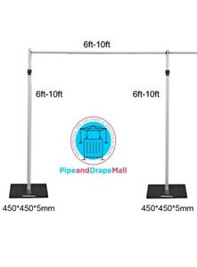 Pipe and Drape System Accessories For Back Drop Various Sizes -WeddingGeneral®