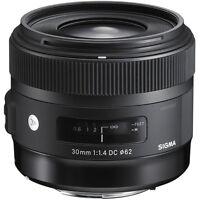 Sigma 30mm F1.4 DC HSM Art Lens in Sony A Mount Fit (UK Stock) BNIB