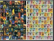 "LUIS ROYO FROM FANTASY TO REALITY COMIC IMAGES 8 x 5.25"" PROMO UNCUT CARD SHEET"