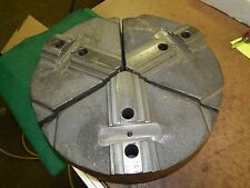Abbott Workholding C1 12A 04P 3pc Cast Steel Lathe Chuck Jaws for 12""
