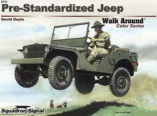 22209/ Squadron Signal - Walk Around 11 - Pre-Standardized Jeep - TOPP HEFT