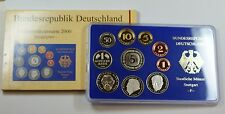 2000 Germany 10 Coin Proof Set- F- In Original Mint Packaging