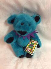 "12"" Turquoise Jointed Grateful Dead Plush Bear W/Tags 1990 Liquid Blue Rare"