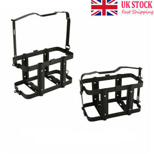 10L/20L Jerry Can Holder Gas Mounted Rack Fuel Gasoline Metal Container UK