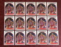 Lot of (15) 1989-90 NBA Hoops CHARLES BARKLEY Base #110 Philadelphia 76ers HOF🔥