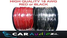 18 AWG rojo negro alambre 18awg Batería Motor Cable Flex chaqueta de PVC 1 m de longitud o cualquier