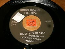 KING OF THE WHOLE WORLD - WHO'S PERFECT / LISTEN - VOCAL GROUP JAZZ POPCORN