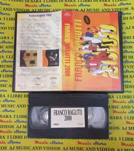 VHS FRANCO BAGUTTI 2000 la papaya FONOLA VD 1240 no cd mc dvd lp LISCIO (VM5)