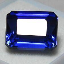Unheated 11.85 Ct Certified Natural Ceylon Blue Sapphire 13x10mm Loose Gemstones