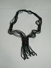 Vtg 1910 Edwardian Women's Beaded Necklace Trim for Victorian Gown