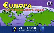 1136 SCHEDA TELEFONICA INTERNAZIONALE USATA EUROPA VECTONE 25/12/2003 5