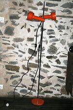 lampe lampadaire design vintage orientable années 70 style alain Richard 2 spots