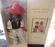 "Annette Himstedt 30"" Puppen Kinder Doll 1994/95-Poncho Nr Mint In Box !"