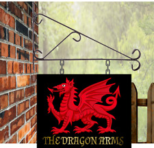 Personalised Hanging Pub sign, 35 x 28 , homebrew, Custom Man Cave Free P&P