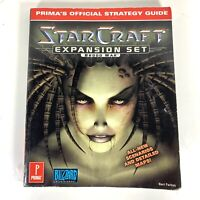 1998 Prima's Official Strategy Guide StarCraft Expansion Set Brood War Book