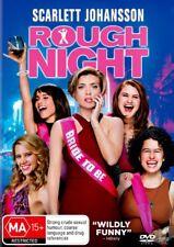 ROUGH NIGHT-Scarlett Johansson, Jillian Bell-DVD-Region 4-New AND Sealed