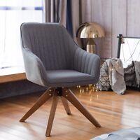 Set of 2 Mid Century Velvet Living Room Accent Armchair Club Chair Reception