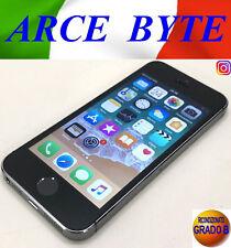 APPLE IPHONE 5S RETINA 16GB SPACE GREY FATTURABILE RICONDIZIONATO GRADO B+