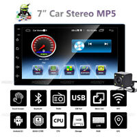 """7"""" Android 8.1 2 DIN Car MP5 Player Stereo Radio GPS Navigation Bluetooth Camera"""