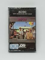 AC/DC ‎Dirty Deeds Done Dirt Cheap Atlantic ‎CS 16033 USA 1981