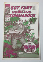 1974 Sgt Fury and his Howling Commandos 50 Marvel Comics cover art POSTER: Foom