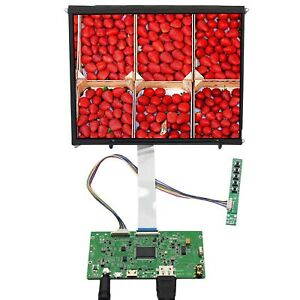 HDM I LCD Controller Board With 9.7inch LP097QX1 2048×1536 IPS LCD panel