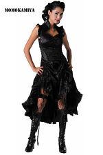 JAWBREAKER VOODOO VIXEN BLACK GOTHIC GOTH VAMPIRE RETRO DRESS VINTAGE DRA2033.
