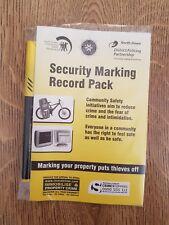 La sicurezza marcatura RECORD Pack Permanente Ultra Violet SICUREZZA PENNARELLO