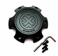 American Racing ATX Series Black Wheel Center Hub Cap 6Lug AX201 AX202 XD797 Spy