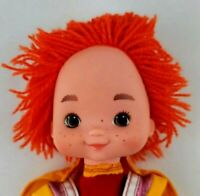 Vintage Rainbow Brite 1983 Hallmark Plush Stuffed Doll Red Butler