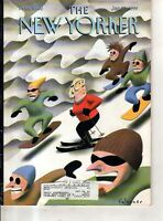January 25 1999 - Snowboarders overtake the skier - Falcones