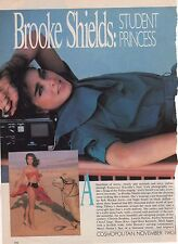 Brooke Shields magazine tear sheets/ ads  1980's