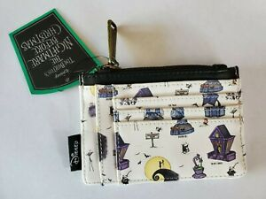 The Nightmare Before Christmas Loungefly Cardholder Wallet Halloween Town