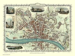 Newcastle 1851 Tallis 1000 Piece Jigsaw Puzzle (jg)