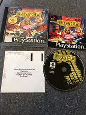 Wreckin Crew Sony Ps1 Rare Playstation 1 Game