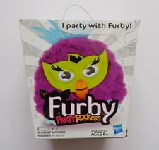 FURBY PARTY ROCKERS FUSSBY - PURPLE / BRAND NEW, FACTORY SEALED, RARE
