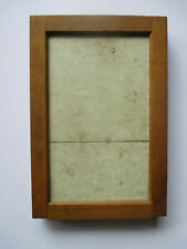 "Antique Eastman Kodak USA 3.25"" x 5.5"" Photo Negative Frame Wood / Glass Hinged"