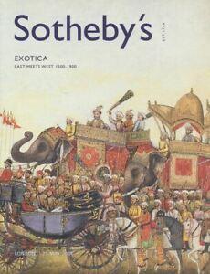 Sotheby's Catalogue Exotica